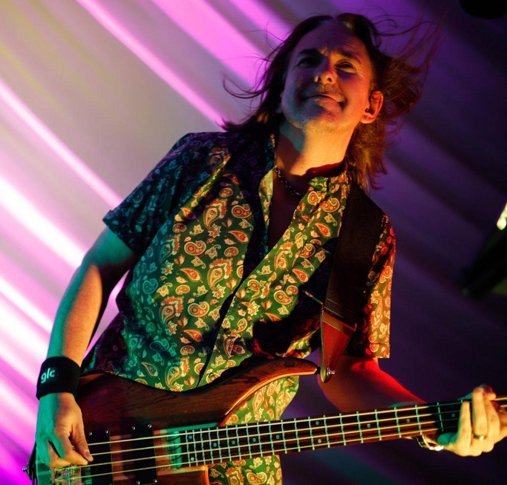 Simon Lees Playing Bass